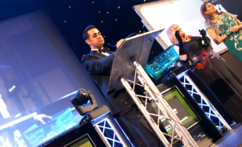 Speaking at the Midlands Asian Lawyers ball