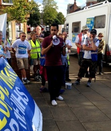 Supporting the People's March for the NHS