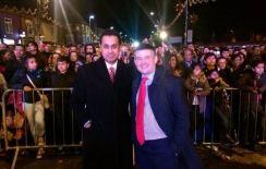 Celebrating Diwali in Leicester with Jon Ashworth MP