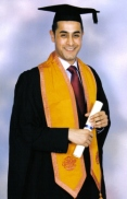 Graduating from law school