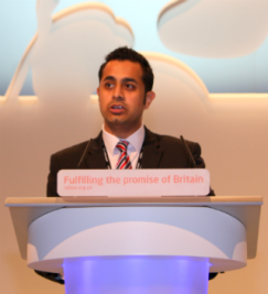 Speaking at the Labour Party conference