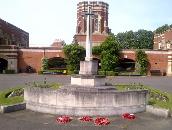 Memorial at Gilroes cemetery in Leicester