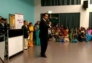 Celebrating Navratri with the Oadby and Wigston Hindu community