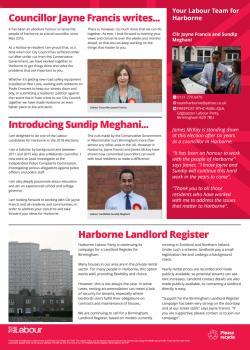 Harborne Labour community update (Page 2)
