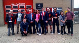 Taking activists with me to campaign in Corby