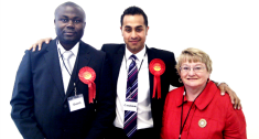 Elected as a Labour Councillor in Beaumont Leys, Leicester